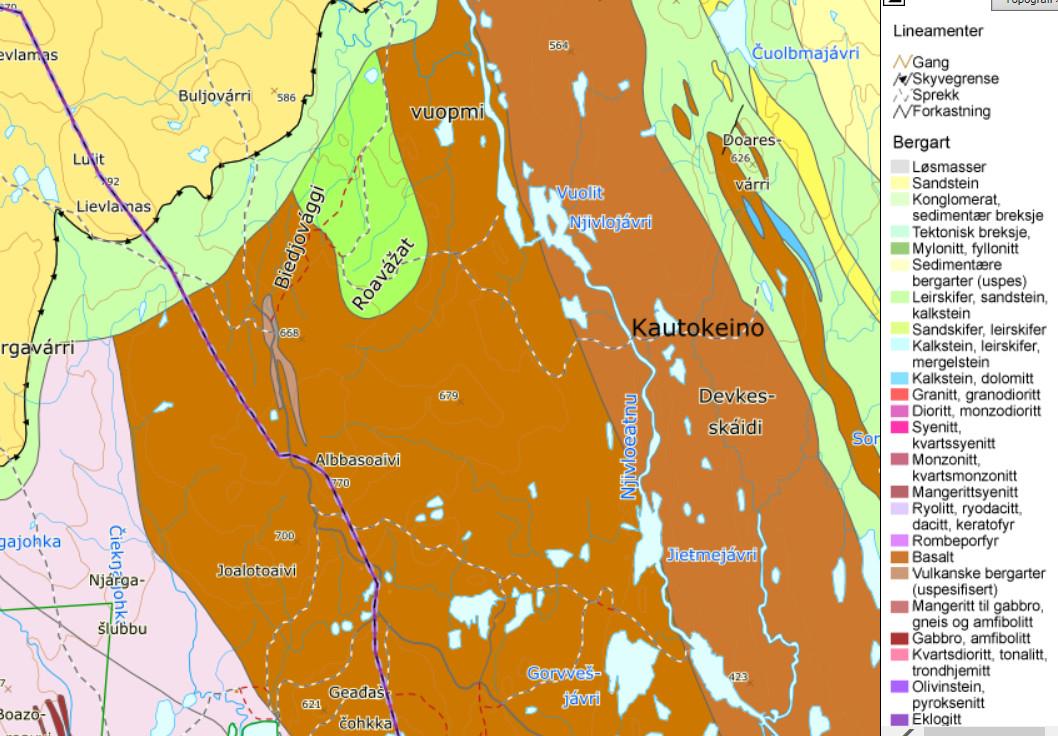 Nytt Kart Over Kritiske Mineral I Europa Norges Geologiske